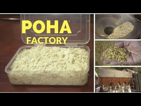 Poha factory visit in Ujjain, Madhya Pradesh