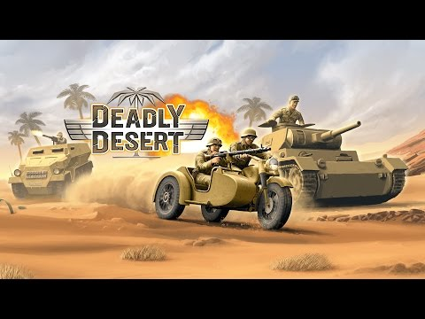 1943 Deadly Desert - Official Gameplay Trailer // iOS & Android