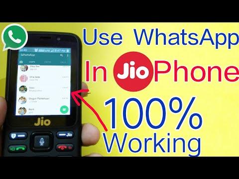 How To Install WhatsApp In Jio Phone | Use WhatsApp on JioPhone | 100% Working | In Hindi
