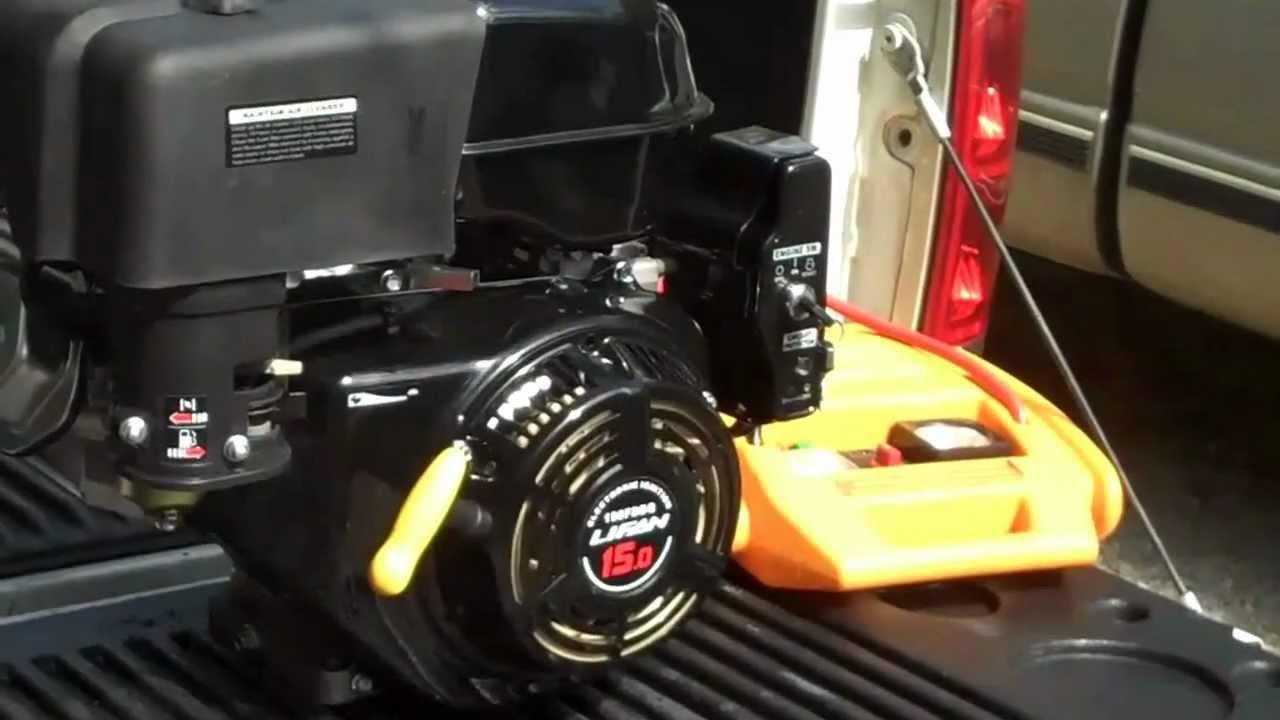 lifan 15 hp 420cc from home depot [ 1280 x 720 Pixel ]