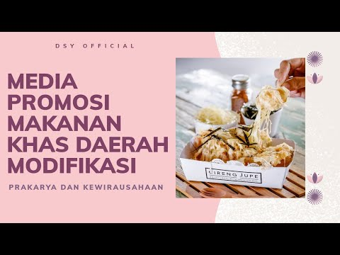 Media Promosi Makanan Khas Daerah Modifikasi Youtube