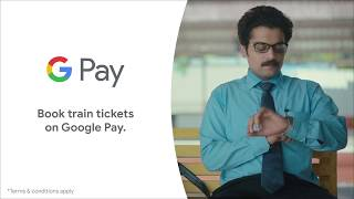 Google Pay | Search and book trains in just a few taps | #MoneyMadeSimple
