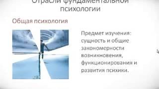 Психология урок 2 Структура психологии