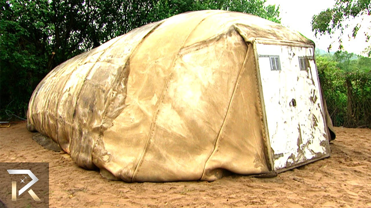 Indestructible Camping Tents To Protect Against Intruders