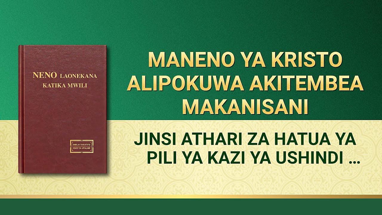 Usomaji wa Maneno ya Mwenyezi Mungu | Jinsi Athari za Hatua ya Pili ya Kazi ya Ushindi Zinavyotimizwa
