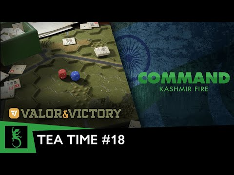 It's Tea Time with Slitherine   Valor & Victory comparison: boardgame vs. videogame