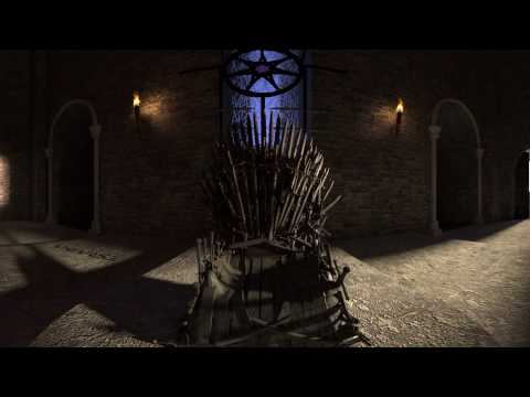Game Of Thrones Iron Throne in 360° (Virtual Reality)