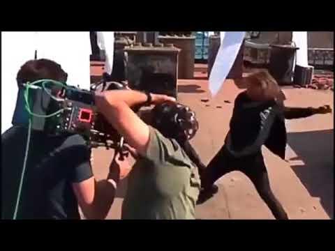 İÇERDE Sarp Ve Mert Kavga Sahnesi Kamera Arkası