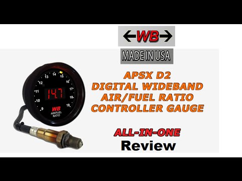 hqdefault wide band apsx d2 air fuel ratio gauge review youtube apsx wideband wiring diagram at reclaimingppi.co