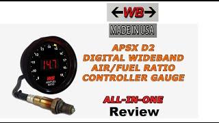 WIde-Band APSX D2 Air/fuel ratio gauge Review