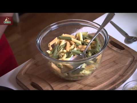 Gluten Free Tri-Colour Penne Al Forno with Spinach