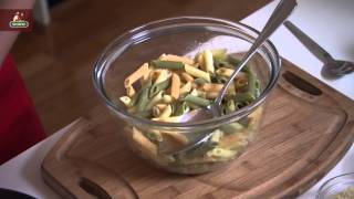 Gluten Free Tri-colour Penne Al Forno With Spinach