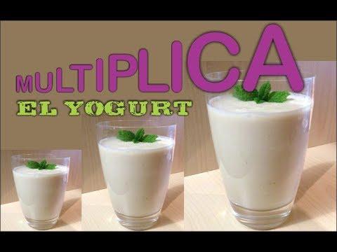 Como Multiplicar el Yogur para que Rinda Muchísimo Mas
