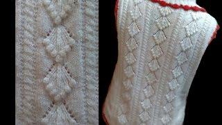 Cardigan / Sweater Design with bobbles Design No#57 in Hindi Knitting | Knitting Hindi |