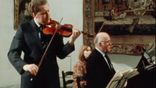 Oleg Kagan & Sviatoslav Richter play Mozart Violin Sonata K.304, 403, 454 - video 1983