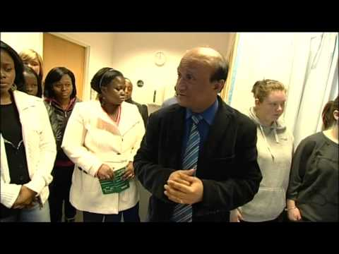BBC News report featuring University of West London Nursing Students