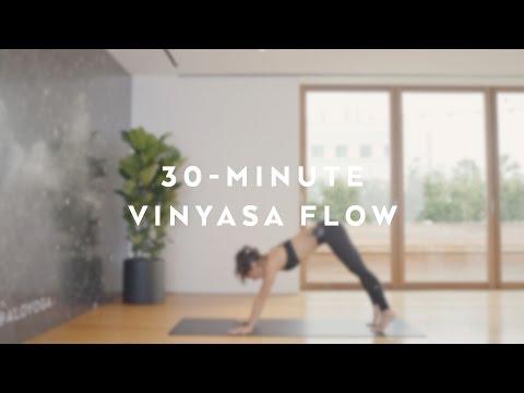 30-Minute Energizing Power Vinyasa Flow with Briohny Smyth