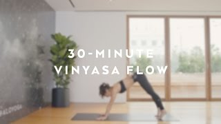 30-Minute Energizing Power Vinyasa Flow with Briohny Smyth