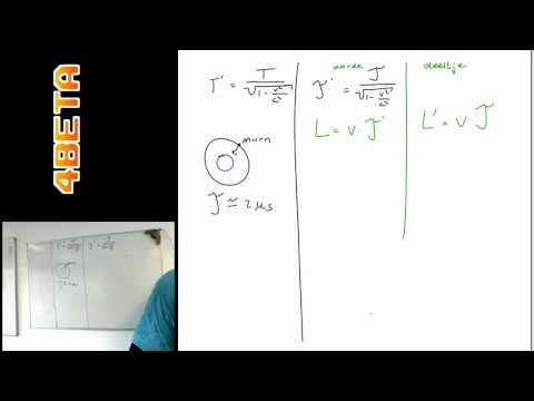 speciale relativiteitstheorie   lengtecontractie