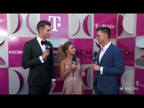 2017 ACM Awards: Jake Owen Red Carpet Interview
