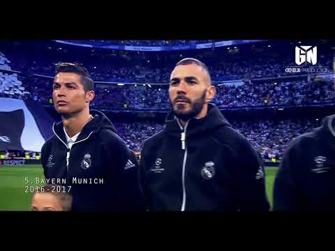 Cristiano Ronaldo - TOP 10 Performances in Champions League[ Johanna Wagner ]