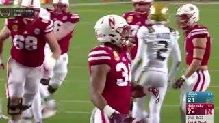 2015 Foster Farms Bowl Highlights - Nebraska 37 UCLA 29