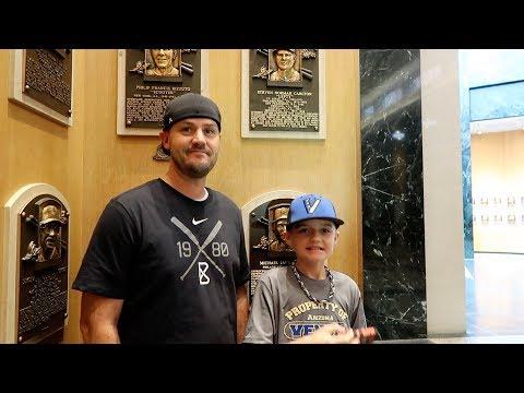Bevos at the Baseball Hall of Fame
