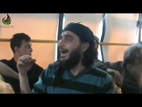 رائعة:اللحظات الأخيرة قبل الخروج من حمص المحاصرة 9_5_2014