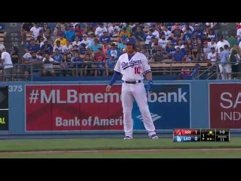 July 30, 2016-Arizona Diamondbacks vs. Los Angeles Dodgers