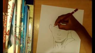 How to draw Nicolas from Gangsta