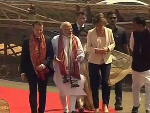Macron inaugurates solar plant in northern India