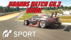 GT Sport Brands Hatch GR.3 Guide Daily Race B & FIA Nations