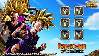 LR AGL SSJ GOHAN Breakdown w. Team Builds (300M DL) | Dragon Ball Z Dokkan Battle