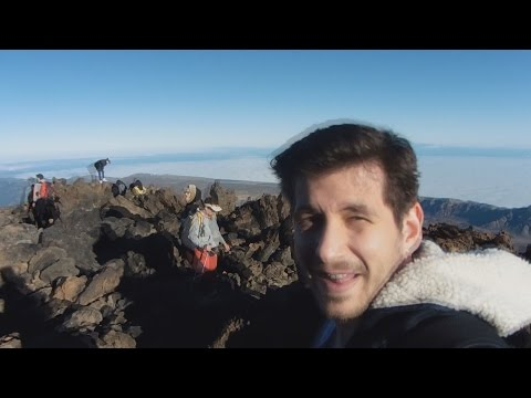 Top Of The Highest Volcano In Spain! - Vlog 3 of 8.