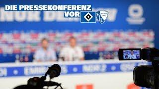 Die Pressekonferenz vor dem Heimspiel gegen den VfL Bochum