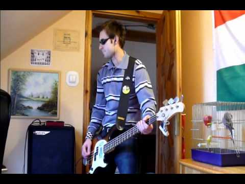 Sunrise Avenue - Hollywood Hills ( Bass cover & Tab )