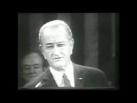 President Johnson's 1969 State of the Union address, 1/14/1969. MP1034.