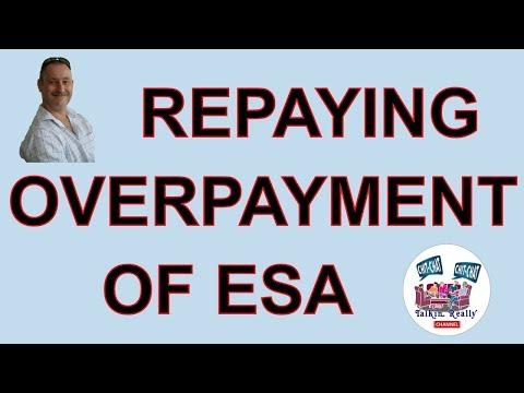 DWP Benefits Overpayment Repayment Of ESA