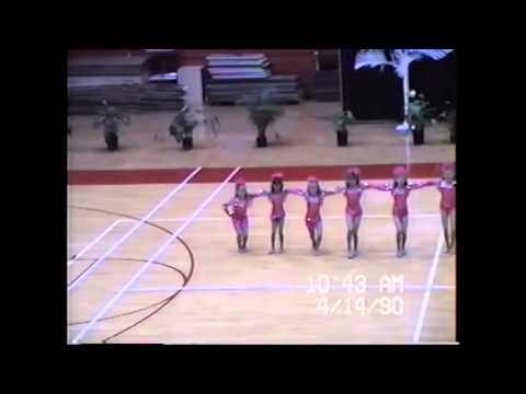 Flashdance What a Feeling, Laie Bay Dancers, Brigham Young University Hawaii, April 14, 1990