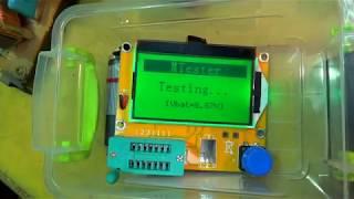 Ремонт телевизора TOSHIBA 2500TS. Как использовать  ESR METER.
