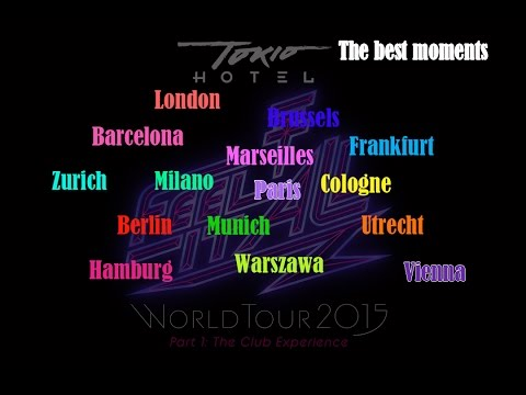 Tokio Hotel - FIA tour 2015 - The Best moments - full show - HD