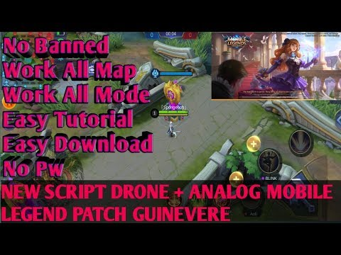 NEW SCRIPT DRONE MAP + ANALOG MOBILE LEGEND PATCH GUINEVERE | MOBILE LEGEND | DRONE VIEW