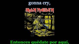 Iron Maiden - Die With Your Boots On - Lyrics / Subtitulos en español (NWOBHM) Traducida