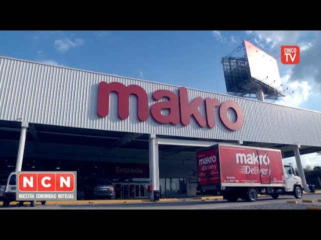 CINCO TV - El Municipio acompañó la inauguración de la nueva sucursal de Makro en Benavídez