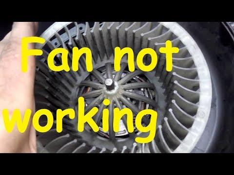 SKODA Fan not working / SKODA Heater Blower Problem / Blower Fan Problem
