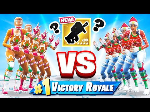 4v4 ROCK Paper SCISSORS *NEW* Mini Game Mode in Fortnite Battle Royale
