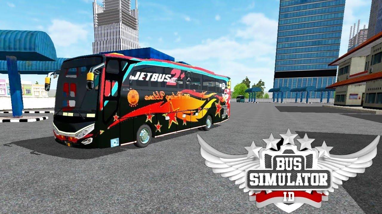 1 Bus Simulator Indonesia New Skin Led Lights