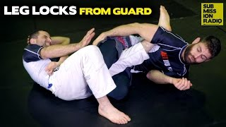How to Hit Leg Locks When Caught On Bottom! | BJJ