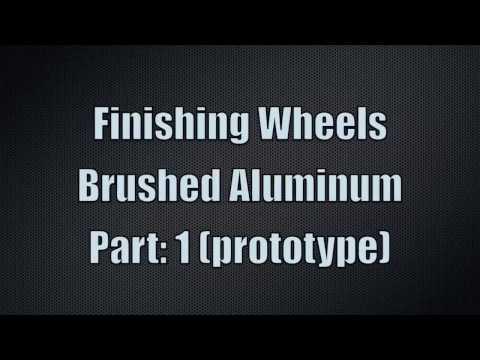 Brushed Aluminum wheel rims Part1 (prototype)