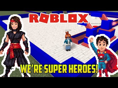 Roblox: MOM AND BUBS ARE SUPERHEROES (Superhero Tycoon!)